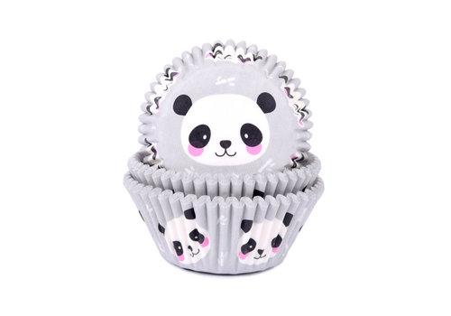 House of Marie Baking Cups panda pk/50