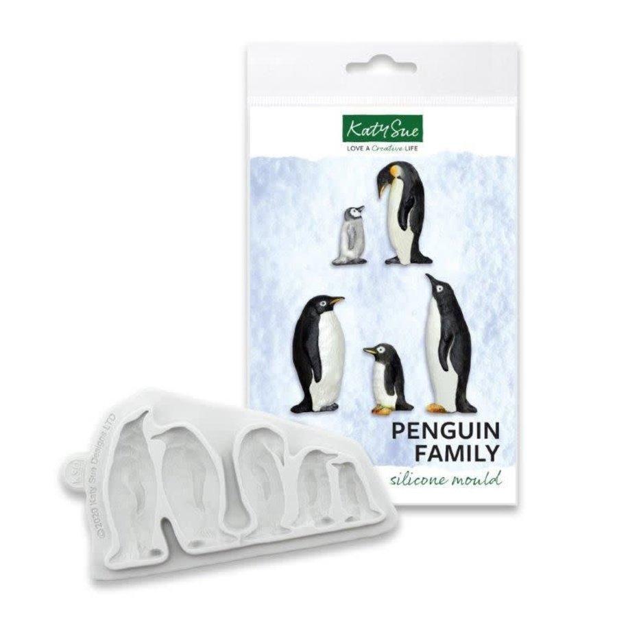 Katy Sue Mould - Pinguin Familie-1