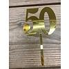 topper 50 acryl goud