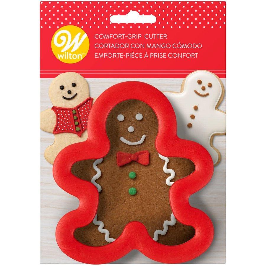 Wilton Comfort Grip Cutter Gingerbread Boy-1