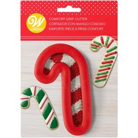 Wilton Comfort Grip Cutter Candy Cane