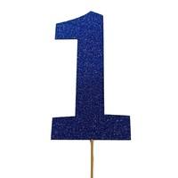 prikker #1 blauw