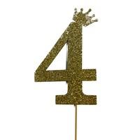 thumb-glitter prikker kroon goud cijfer 4-2