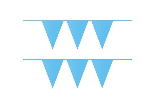 Vlaggenlijn lichtblauw 10 m