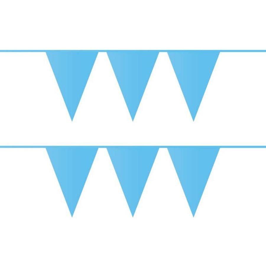 Vlaggenlijn lichtblauw 10 m-1