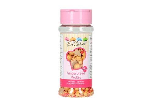 FunCakes Sprinkle Medley -Gingerbread- 65g