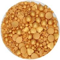 thumb-FunCakes Sprinkle Medley -Gold Deluxe- 65g-2