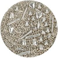 thumb-FunCakes Sprinkle Medley -Silver- 65g-2