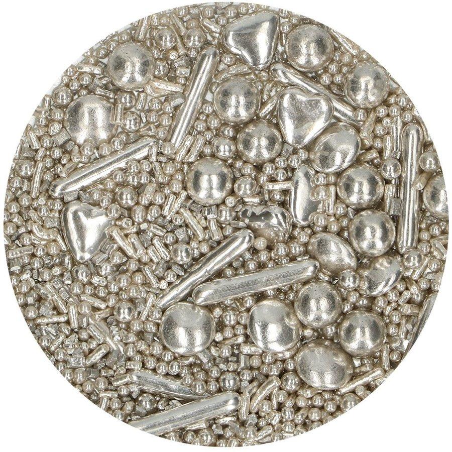 FunCakes Sprinkle Medley -Silver- 65g-2