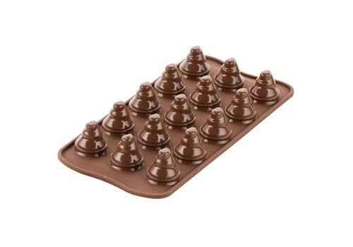 Silikomart Chocolade Mal Choco Bomen