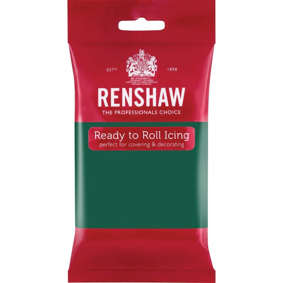 Renshaw Rolfondant Pro 250g - Emerald Green-1