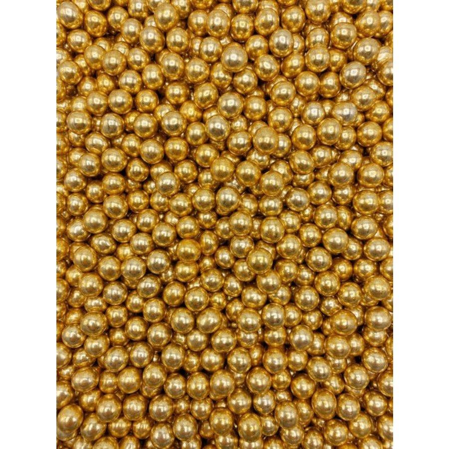 Crunchy parel goud metallic-2