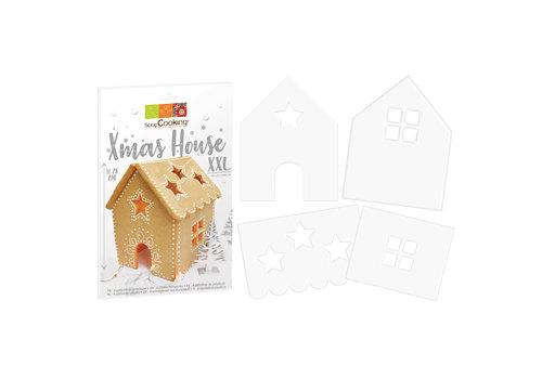 Scrapcooking Cookie Template XXL Xmas House Set/4