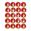 Sinterklaas cupcakes rondjes 5cm