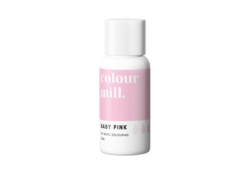colour mill baby pink roze 20ml