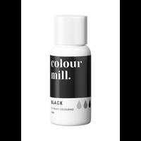 colour mill black zwart 20ml