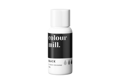 colour mill black zwart 20ml
