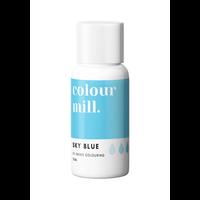 colour mill sky blue blauw 20ml