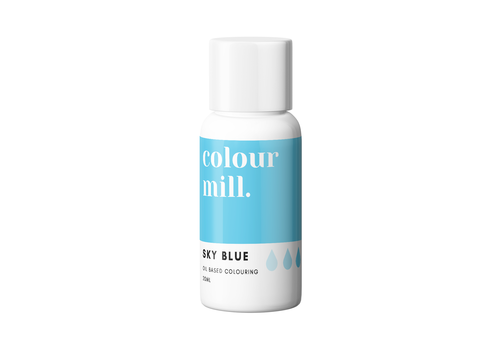 colour mill sky blue blauw 20ml