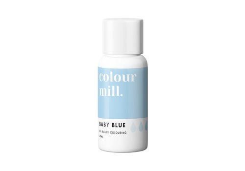 colour mill baby blue blauw 20ml