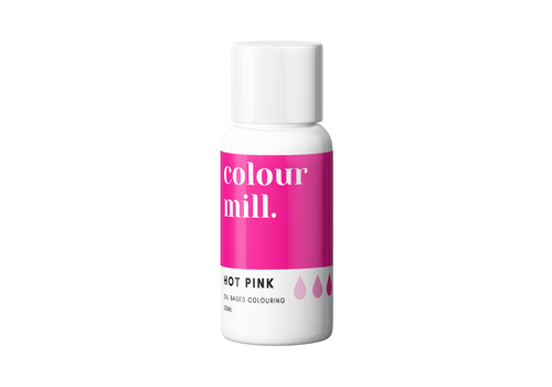 colour mill hot pink roze 20ml