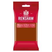 Renshaw Rolfondant Pro 250g - donker bruin