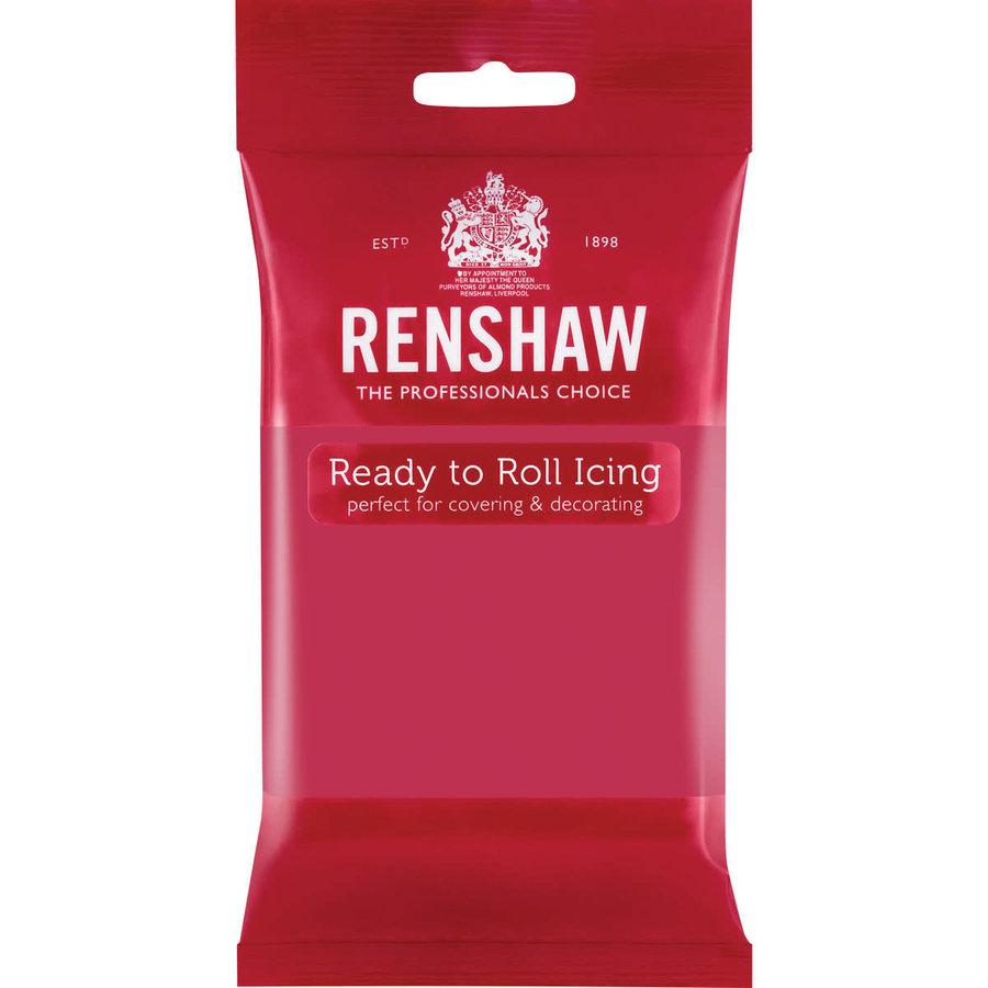 Renshaw Rolfondant Pro 250g - fuchsia roze-1