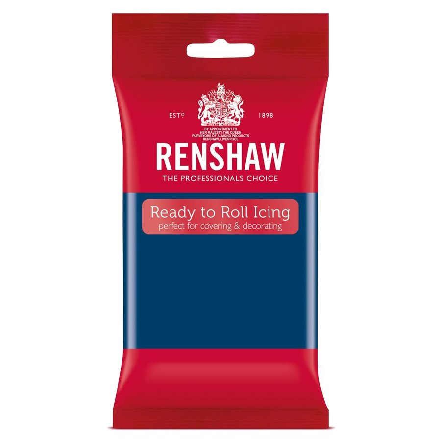 Renshaw Rolfondant Pro 250g - Sapphire blauw-1