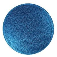 Cakedrum donker Blauw Rond Ø20cm