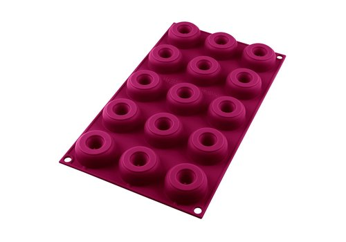 Silikomart Silicone Mini Donut Mould