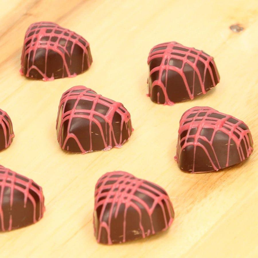 FunCakes Chocolade Mal Hart-2