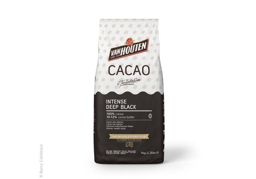 Van Houten Intense Diepzwarte Cacaopoeder 1kg