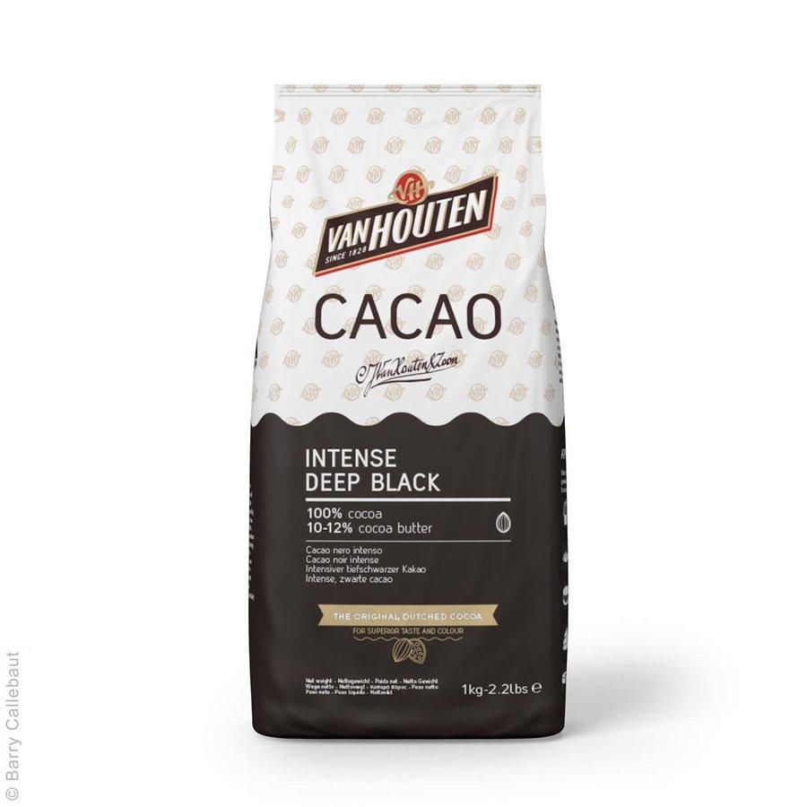 Van Houten Intense Diepzwarte Cacaopoeder 1kg-1