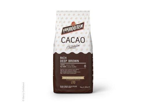 Van Houten Rijke Diepbruine Cacaopoeder 1kg