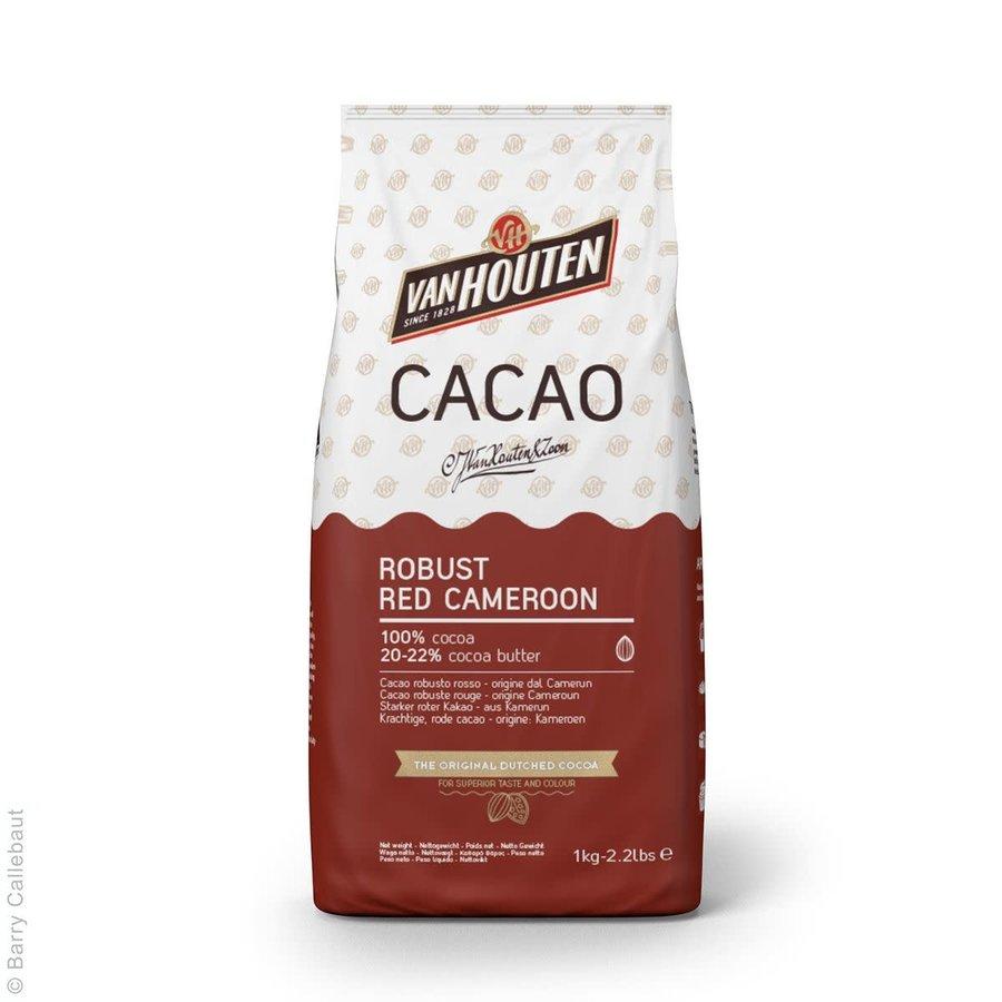 Van Houten Robuuste Rode Kameroen Cacaopoeder 1kg-1