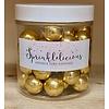 sprinklelicious Crunchy parel goud metallic