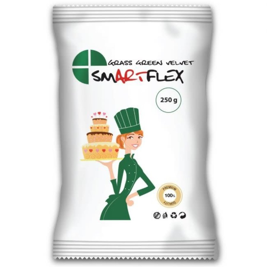 SmArtFlex velvet grass green groen 250gram-1