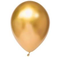 Chrome Ballonnen Goud 10st