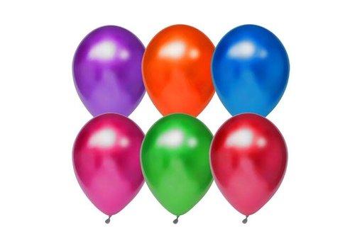 Titanium Ballonnen mix 30cm 6st