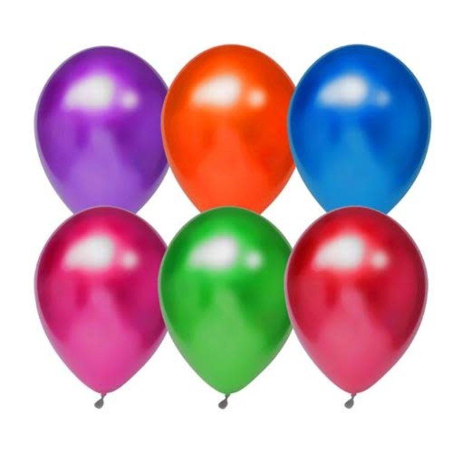 Titanium Ballonnen mix 30cm 6st-1