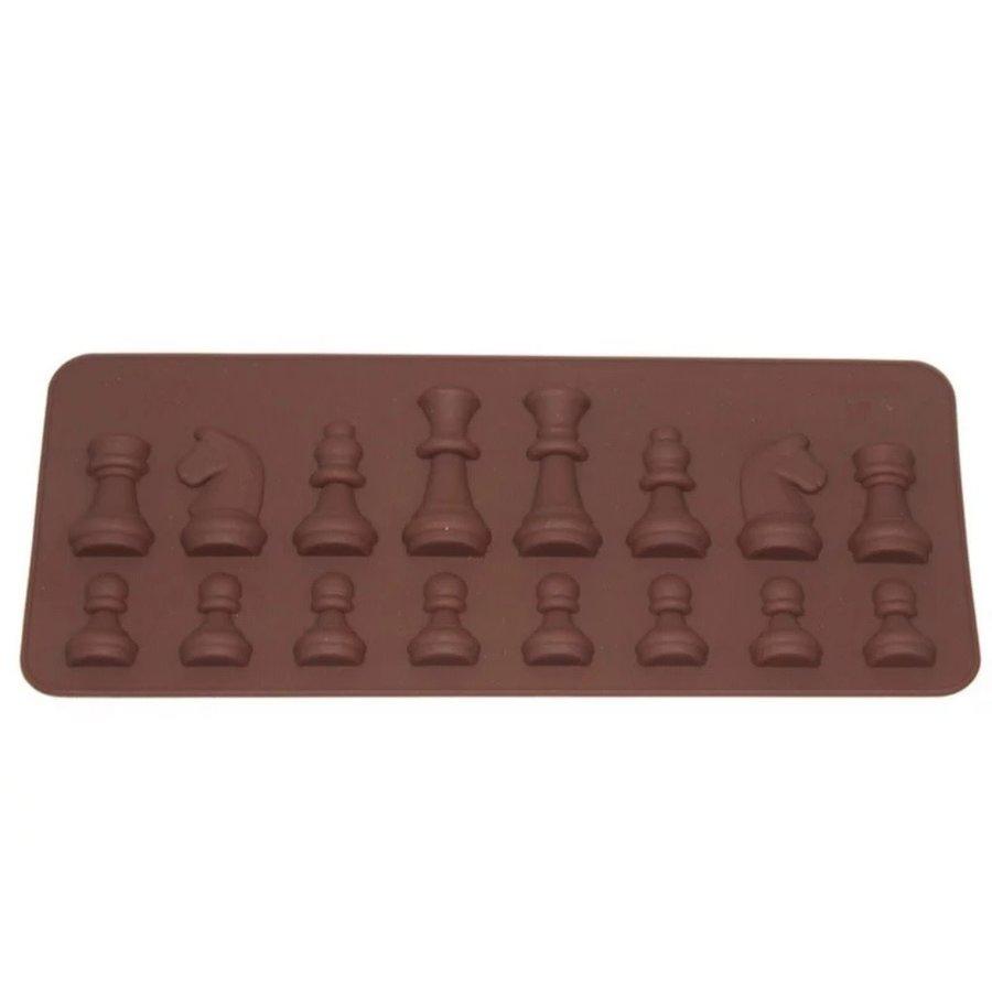 Chocolade mal schaakstukken-1