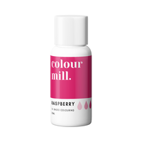 colour mill red raspberry 20ml