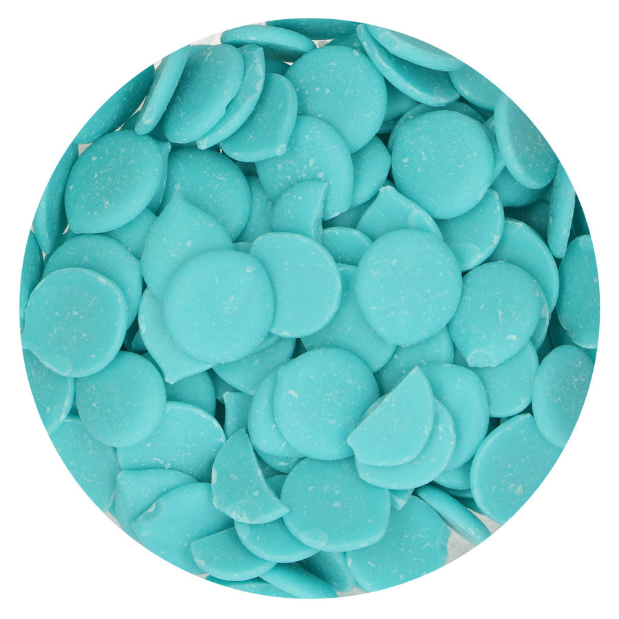 Funcakes Deco Melts -licht blauw- 250g-2