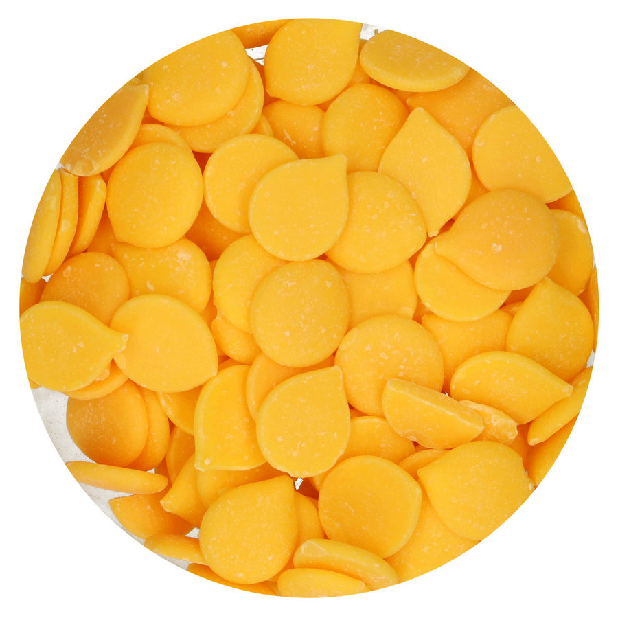 FunCakes Deco Melts -yellow geel - 250g-2