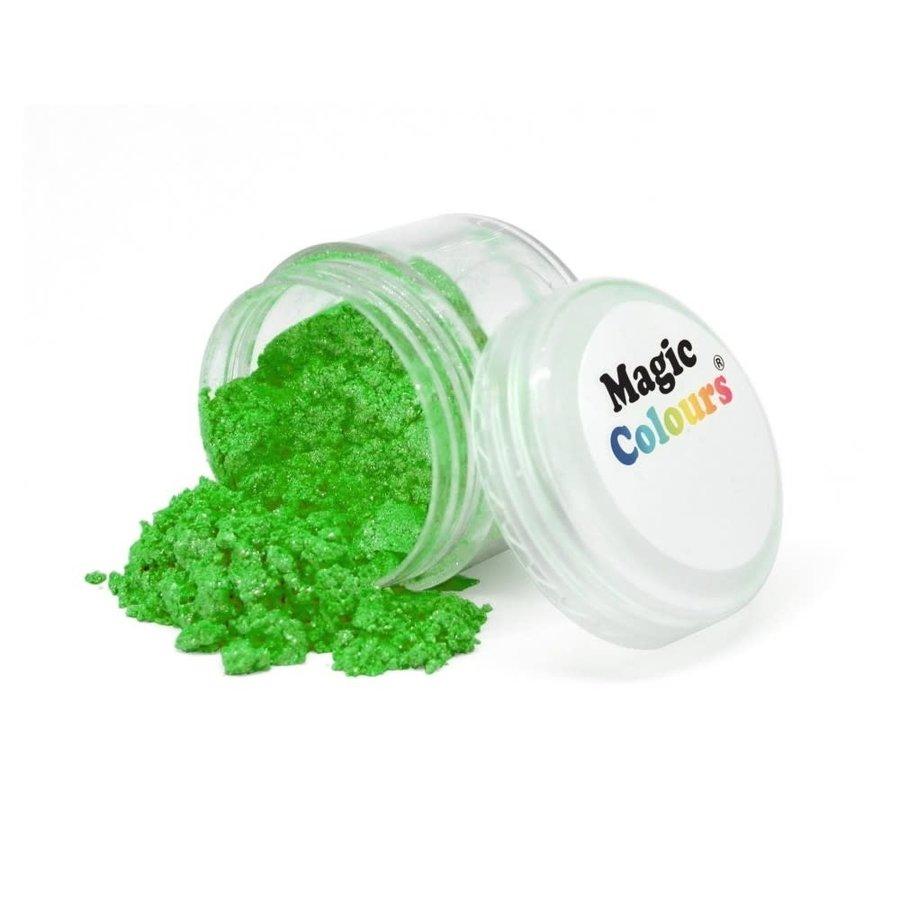 Magic Colours Edible Lustre Dust - Garden groen Sparkle- 8ml-1