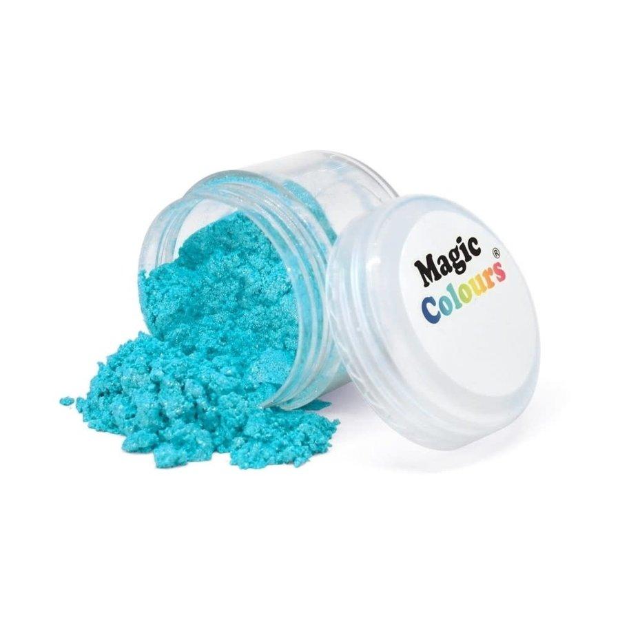 Magic Colours Edible Lustre Dust - Sparkle Blue blauw - 8ml-1