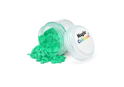 Magic Colours Edible Lustre Dust - Turquoise - 7ml