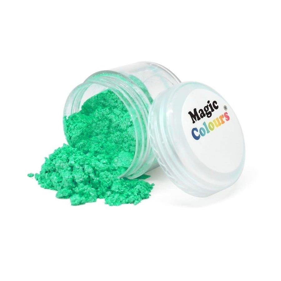Magic Colours Edible Lustre Dust - Turquoise - 7ml-1