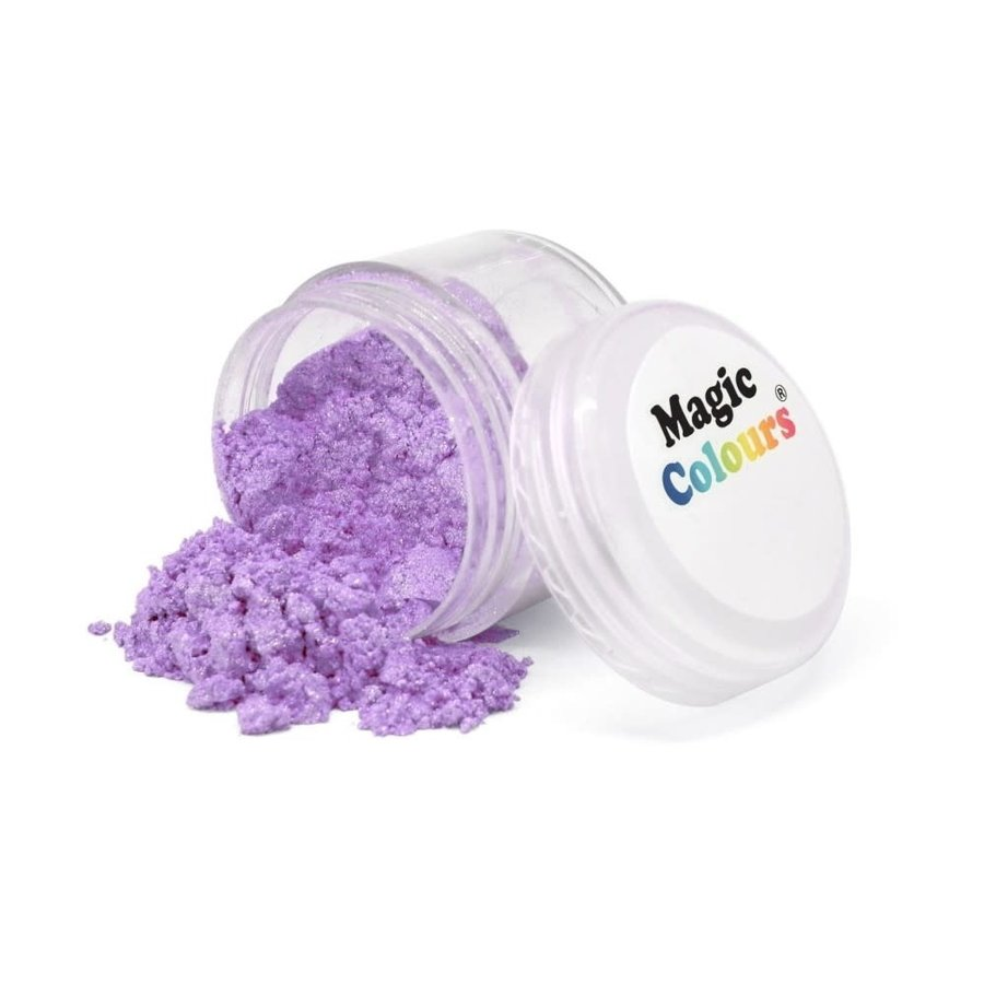 Magic Colours Edible Lustre Dust - Lavender paars Sparkle - 8ml-1