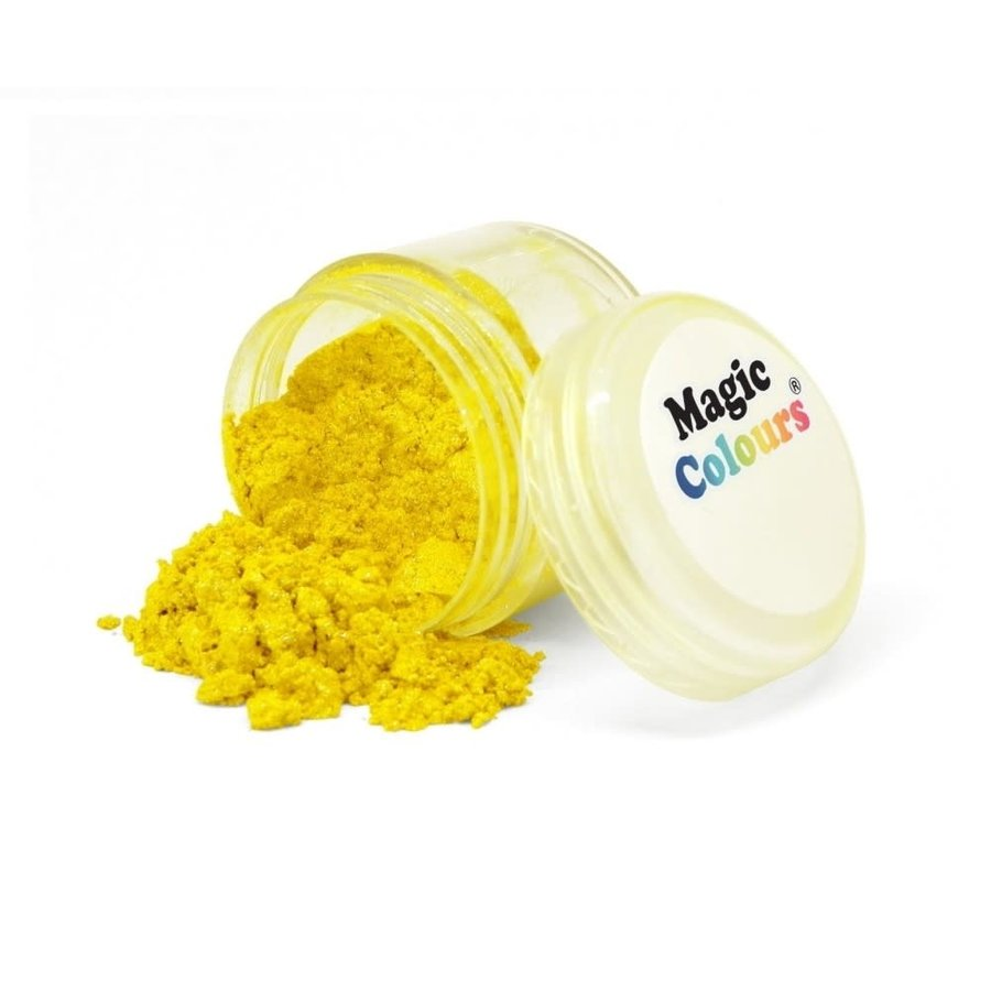 Magic Colours Edible Lustre Dust - Light Yellow geel - 8ml-1